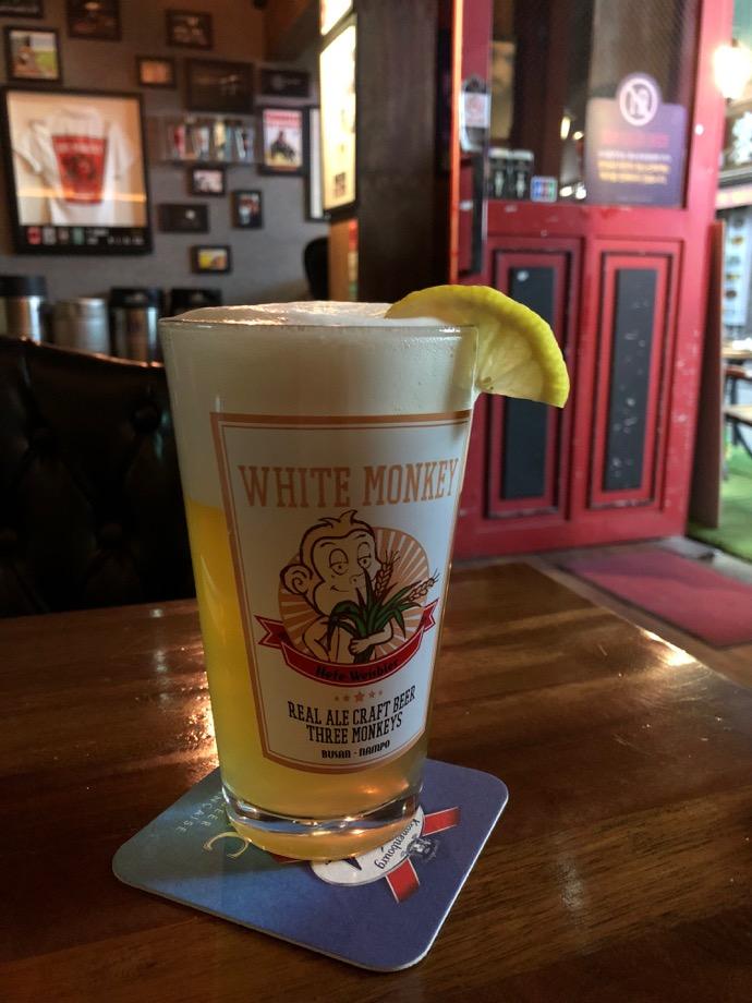 WHITE MONKEYの白ビール