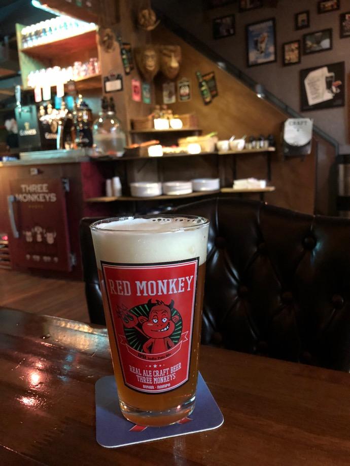THREE MONKEYSのクラフトビール