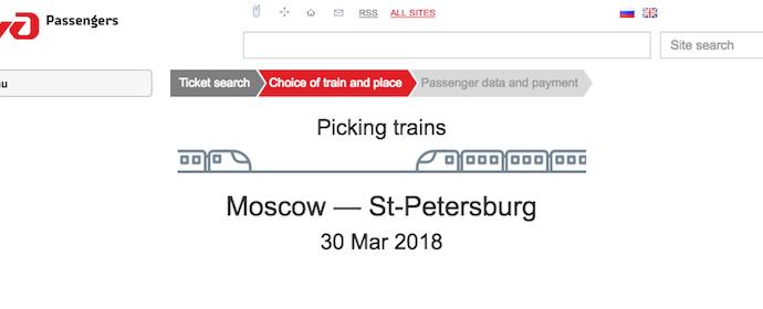 検索中の待機画面