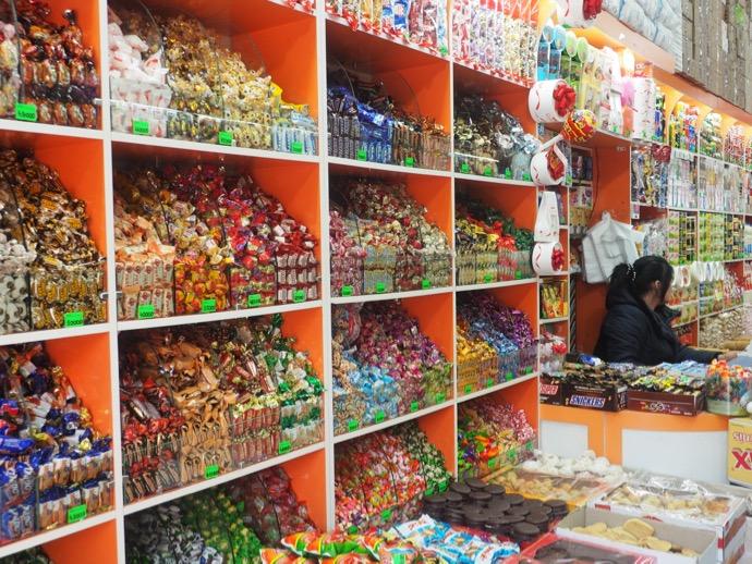 お菓子の量り売り