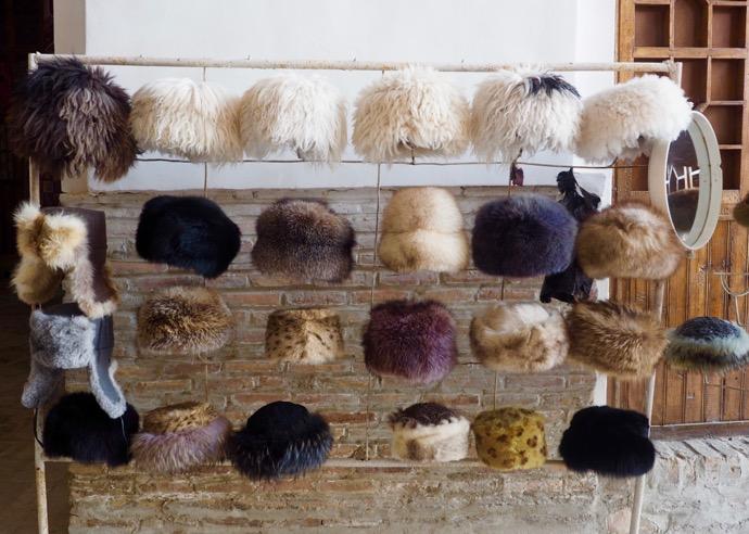 販売中のロシア帽