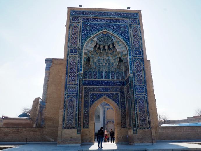 グル・アミール廟の門