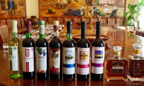 サマルカンド ワイナリー 試飲 テイスティング 10種 ワイン工場