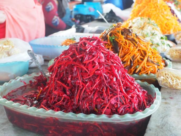ウズベキスタンのお惣菜