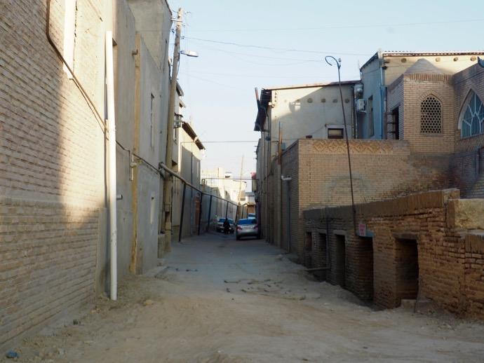 ブハラ旧市街の町