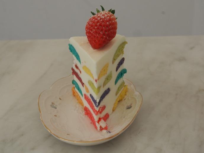 正面から見たクラウドマインケーキ
