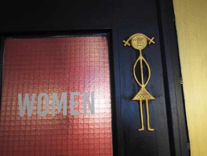 女性用トイレの入り口