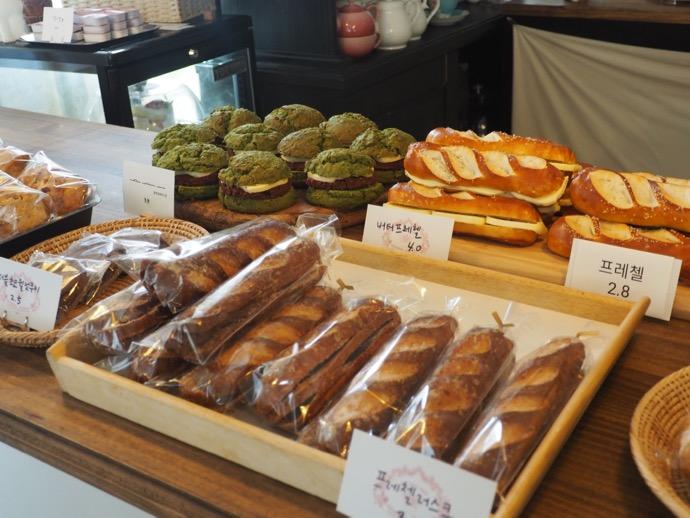 販売されている焼き菓子