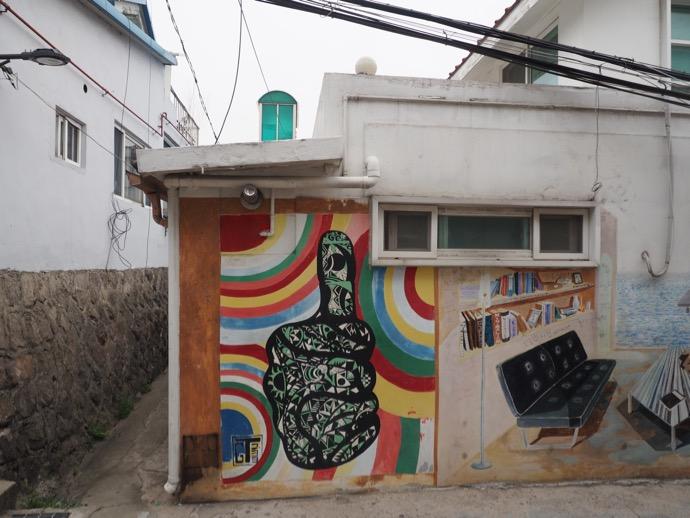 梨花壁画村のパブリックアート