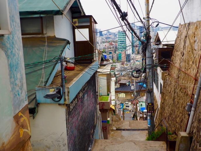 梨花洞文化村の小道