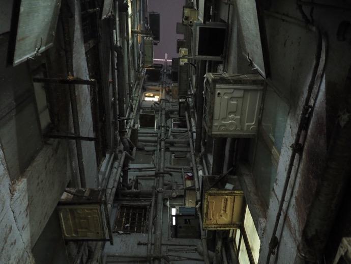 閉鎖的な重慶大厦