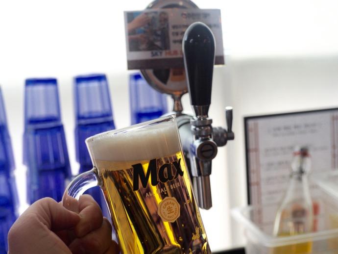 【釜山・金海国際空港】SKY HUB LOUNGE 生ビール飲み放題