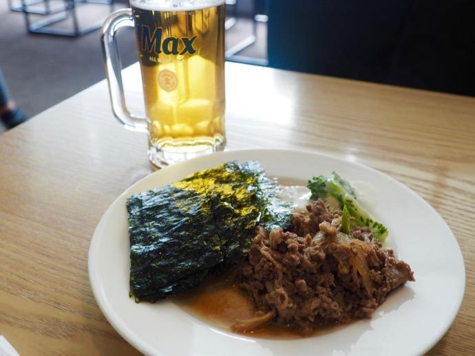 【釜山・金海国際空港】SKY HUB LOUNGE プルコギが美味しい