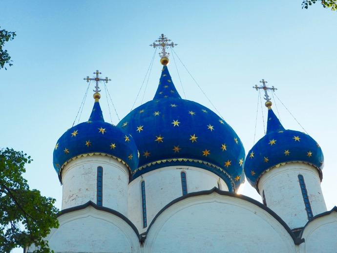 ラヂェストヴェンスキー聖堂のドーム