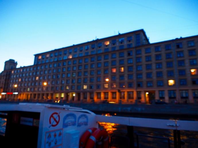 サンクトペテルブルクの巨大な建物