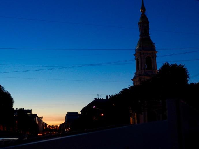 マジックアワーのサンクトペテルブルク