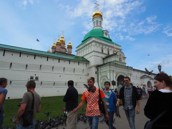 トロイツェ・セルギエフ大修道院の入場門