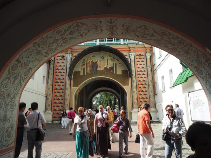 トロイツェ・セルギエフ大修道院の入り口