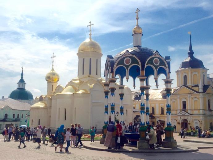トロイツェ・セルギエフ大修道院の内部