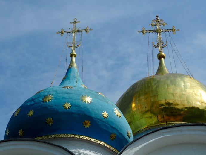 ウスペンスキー大聖堂の玉ねぎ型ドーム