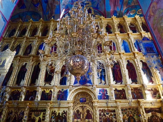 ウスペンスキー大聖堂のフレスコ画