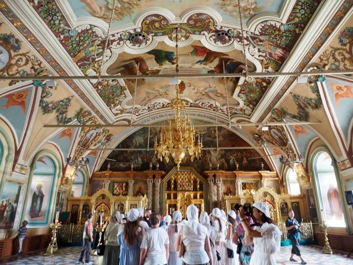 トラベズナ聖堂の内部