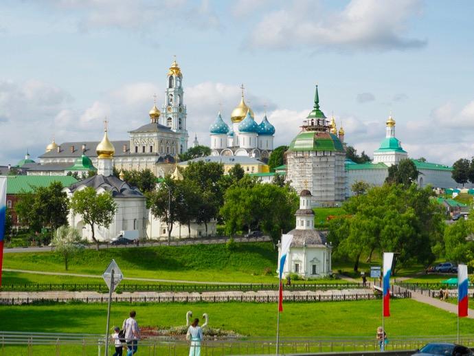 セルギエフ・ポサードの遠景