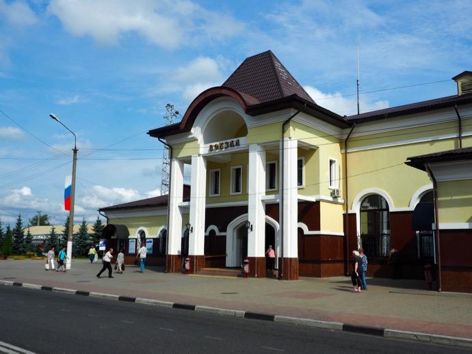 セルギエフ・ポサード駅舎