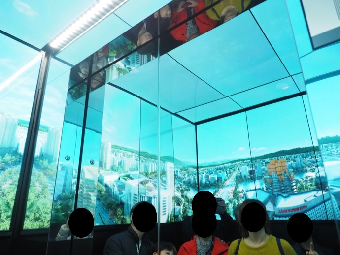 ソウルスカイの高速エレベーター