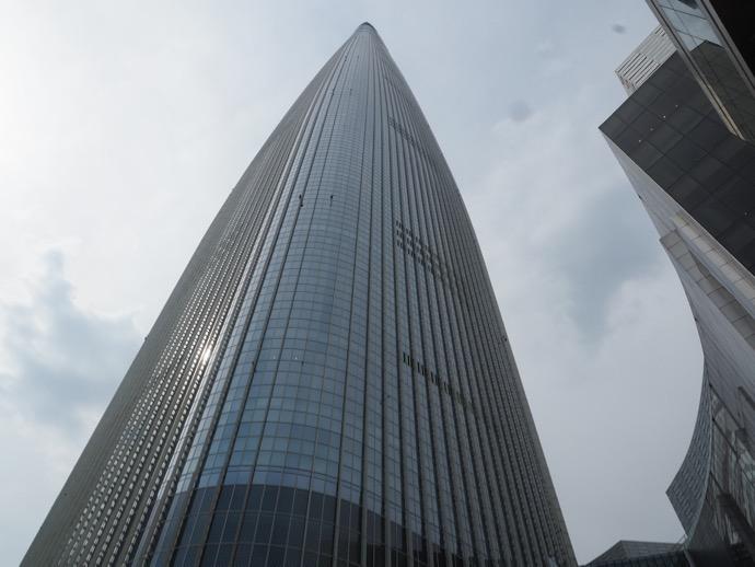 ロッテワールドタワーのソウルスカイ