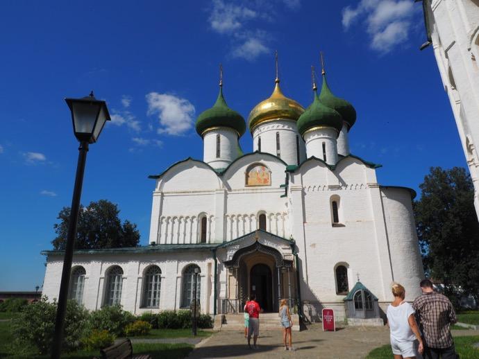 スパソ・プレオブラジェーンスキー聖堂の外観