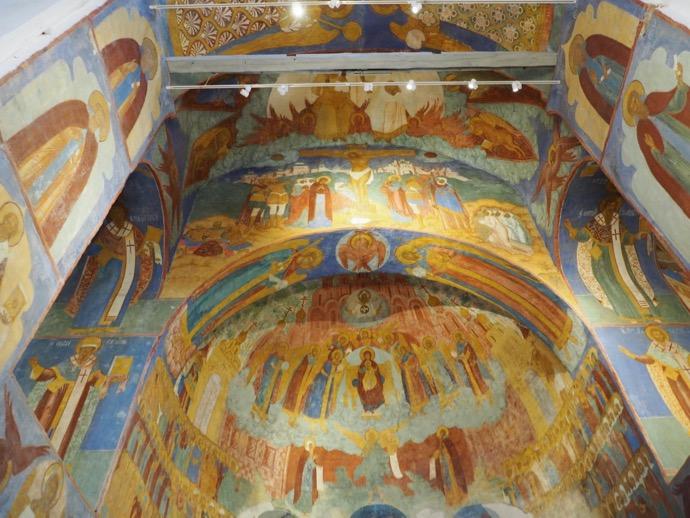 スパソ・プレオブラジェーンスキー聖堂のフレスコ画