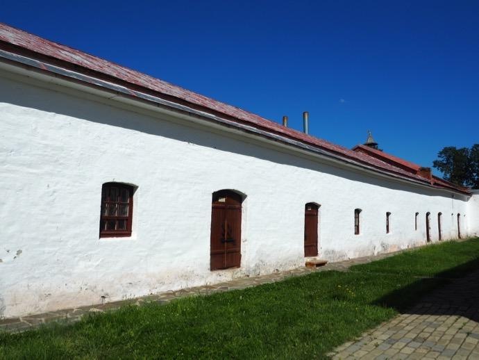 スパソ・エフフィミエフ修道院の壁
