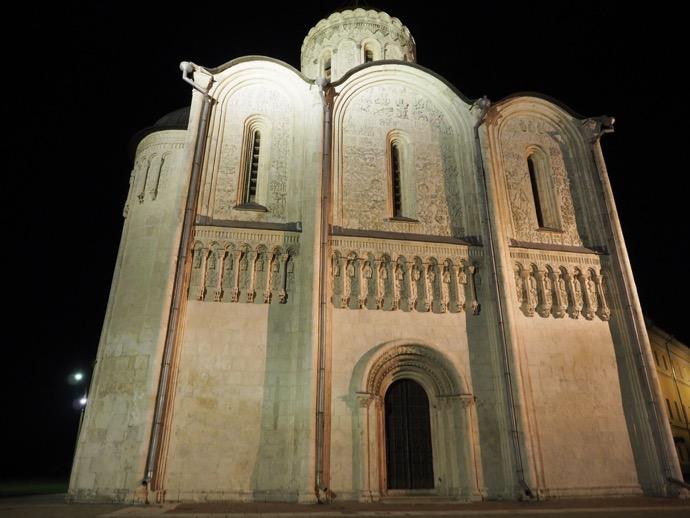 世界遺産、ドミトリフスキー聖堂