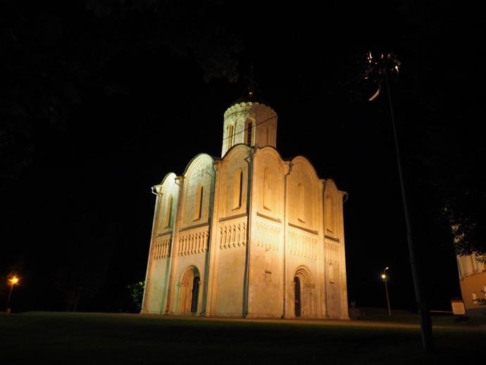 世界遺産のドミトリフスキー聖堂