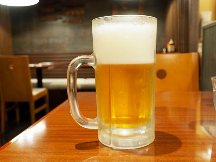 ぼてじゅうの生ビール特大