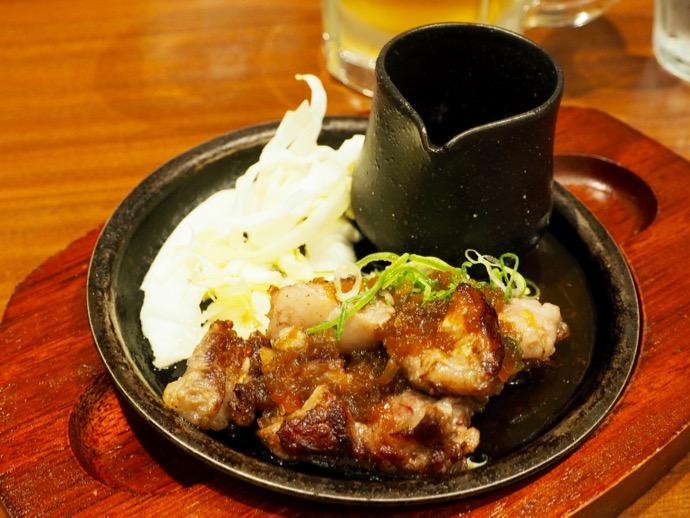 ぼてぢゅうの牛カルビのカットステーキセット ¥1,280
