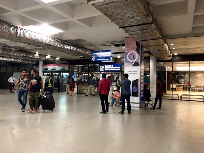 シャージャラル国際空港の内部