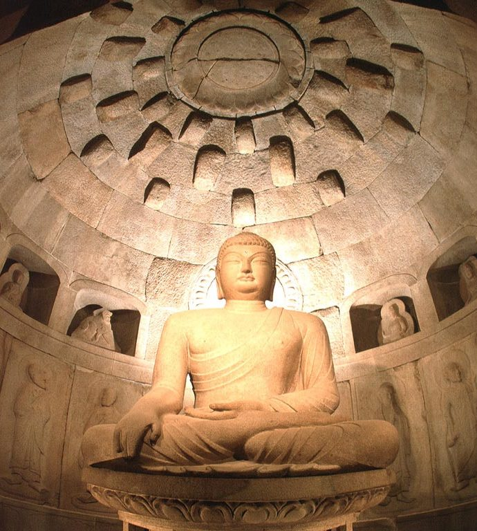 石窟庵の仏像