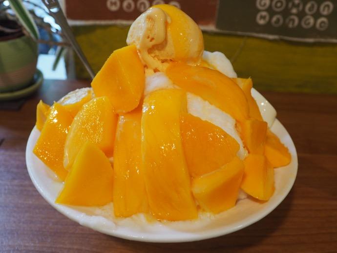 GOMAN MANGOの絶品マンゴーかき氷