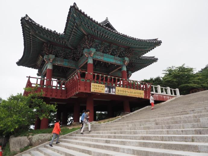 石窟庵への階段