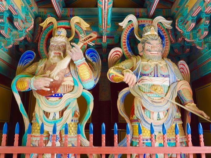 仏国寺の天王門