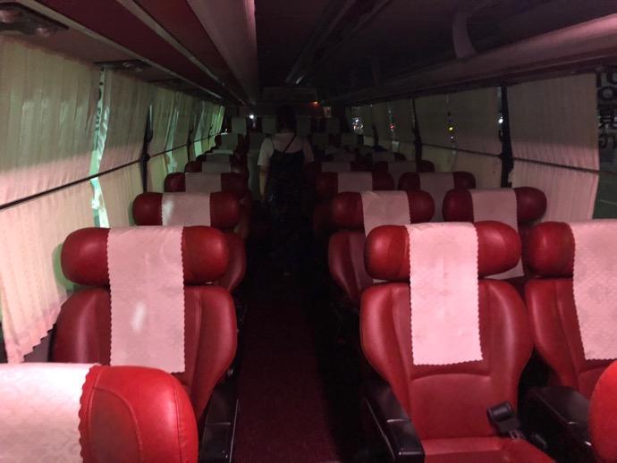 慶州方面のバス