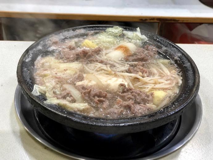 グツグツ煮えてきた石頭火鍋