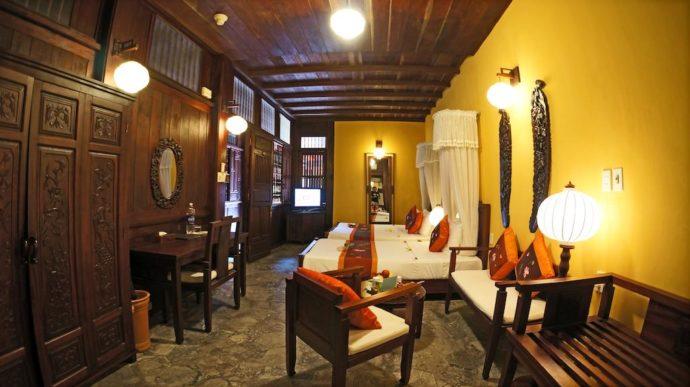 Vinh Hung 1 Heritage Hotelの部屋