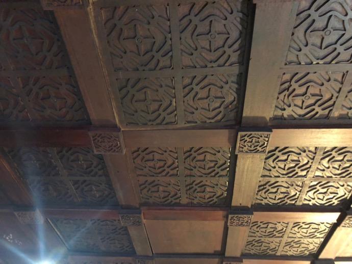 天井まで美しいデザイン