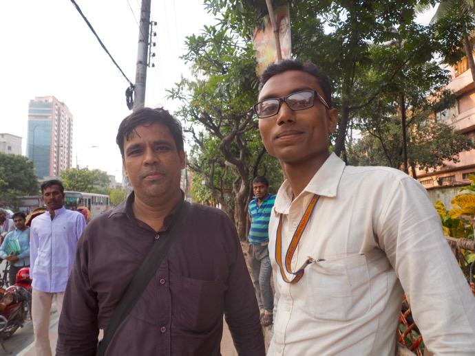 バングラデシュの新聞記者