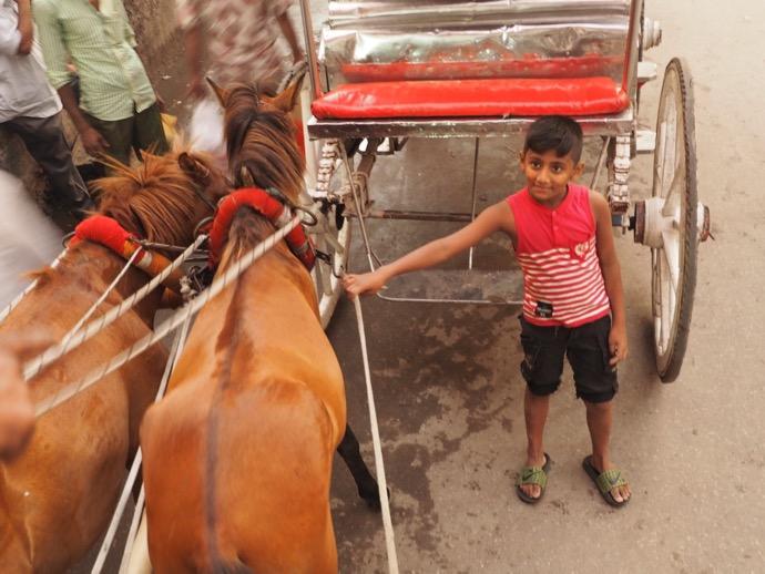 バングラデシュの少年