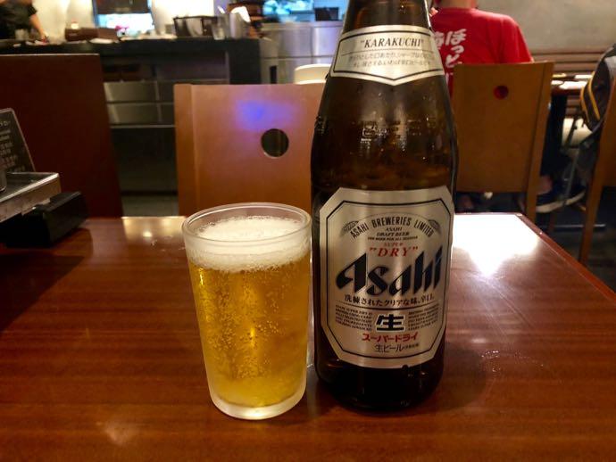 【ぼてぢゅう】Peach ターミナル2 プライオリティパスで無料 瓶ビール