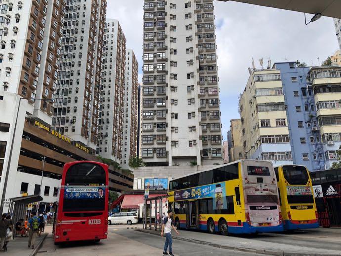 MTR 筲箕湾駅(Shau Kei Wan)駅